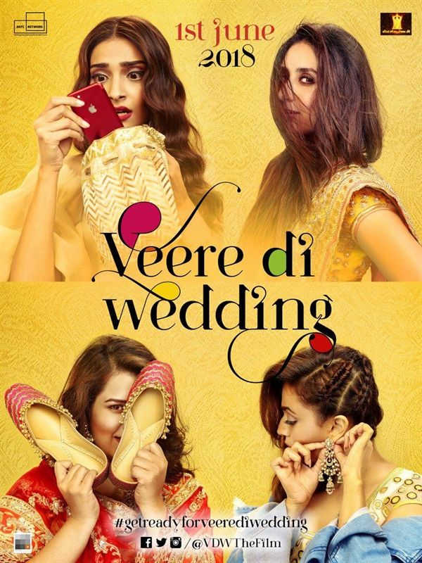 Watch Veere Di Wedding full movie Hd1080p Sub English Veerediwedding Veere Di Wedding Wedding Movies Wedding Film
