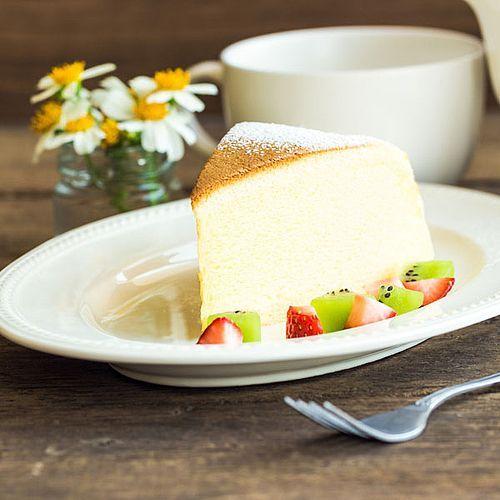 Low Carb: Japanischer Käsekuchen aus nur 3 Zutaten - Rezept ohne Zucker -  #aus #Carb #japani... #japanischerkäsekuchen