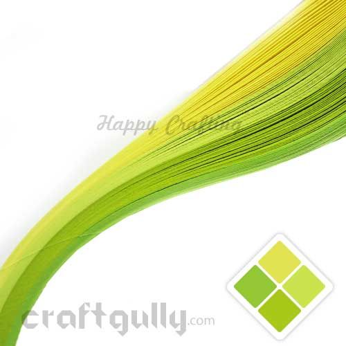 Quilling Paper Strips 3mm - Spring Pack - 17Inch - 100 Strips