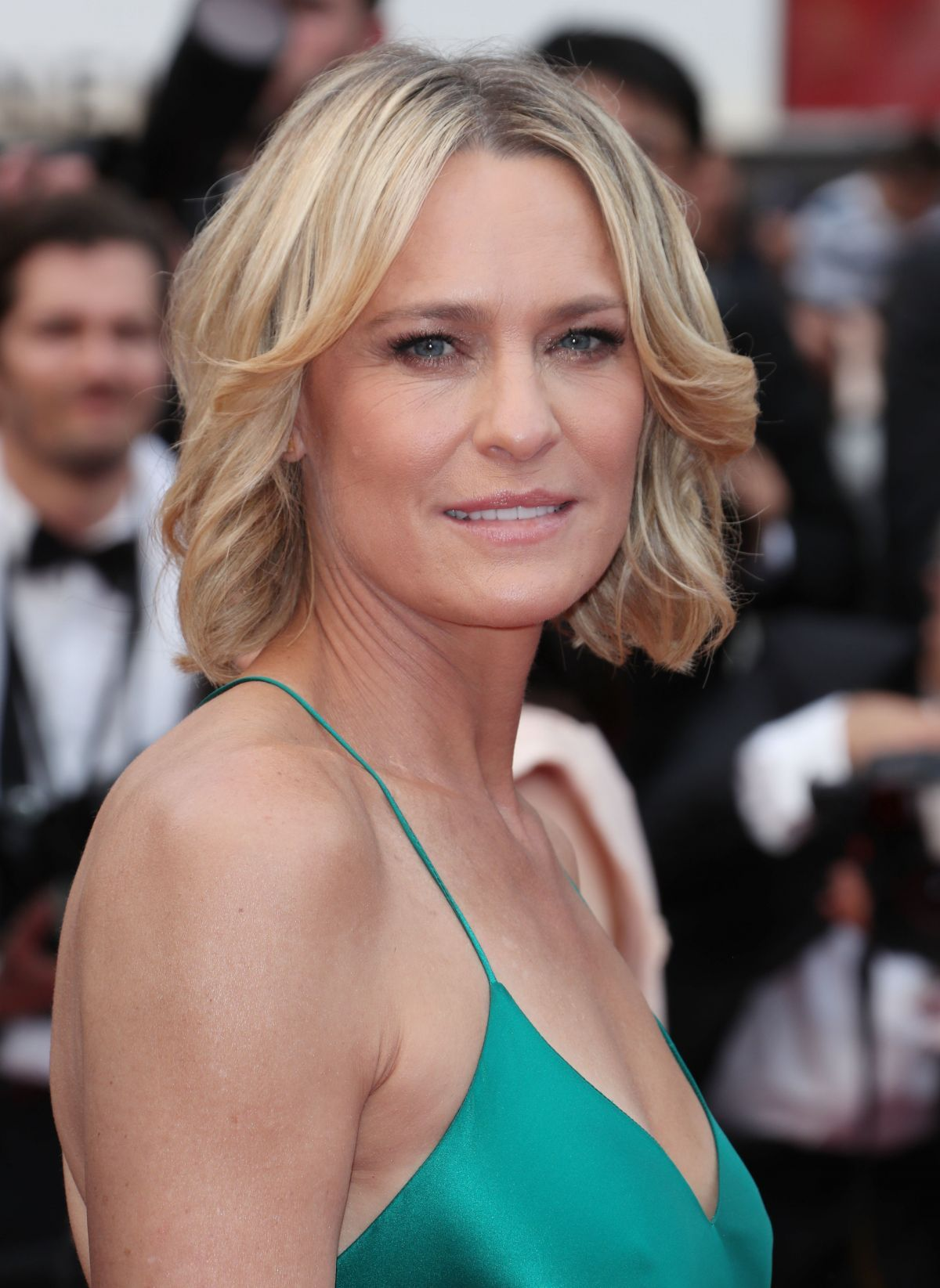 ROBIN WRIGHT at Loveless Premiere at 2017 Cannes Film ...