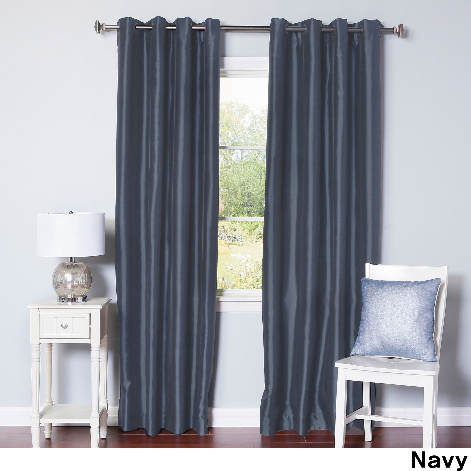 faux default grom dupioni bo red silk window blackout grommet top curtains w curtain