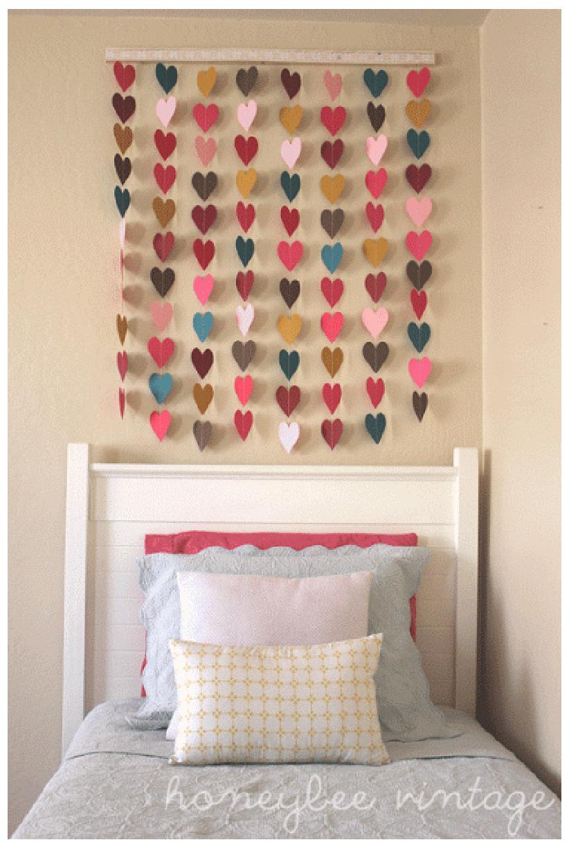 Diy Wallart Ideas 5 Teenage Girl Room Decor Cute Wall For Bedroom