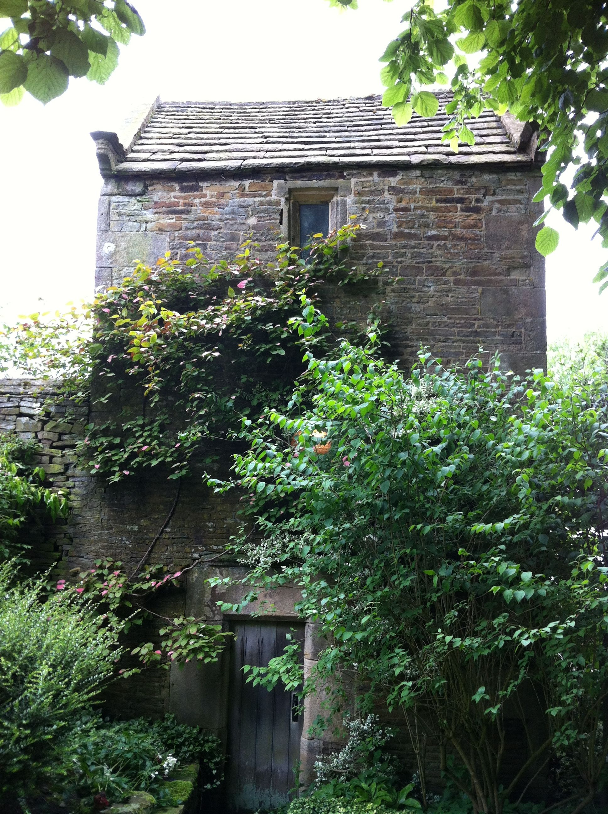 The dovecote at Fanshawe Gate Hall, Holmesfield, Derbyshire; 24 June 2012 for @NGSOpenGardens