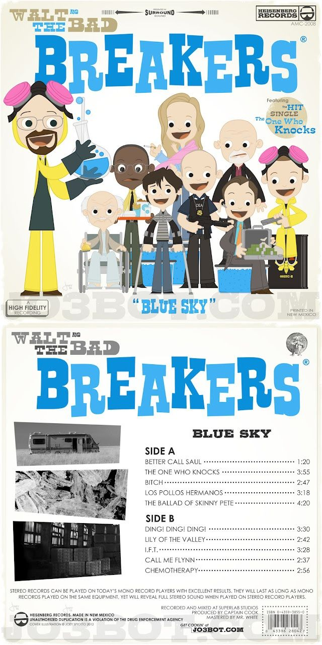 Joey Spiotto's Walt and the Bad Breakers - Blue Sky