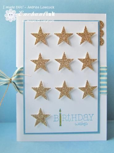 Handmade Male Birthday Card Stampin Up For A Friend Blog