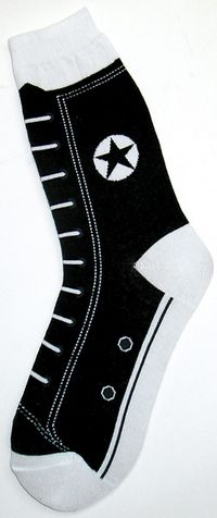 converse socks...LOVE