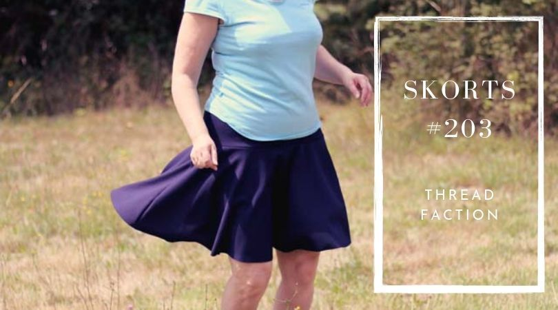 Skort #203, papttern by Thread Faction