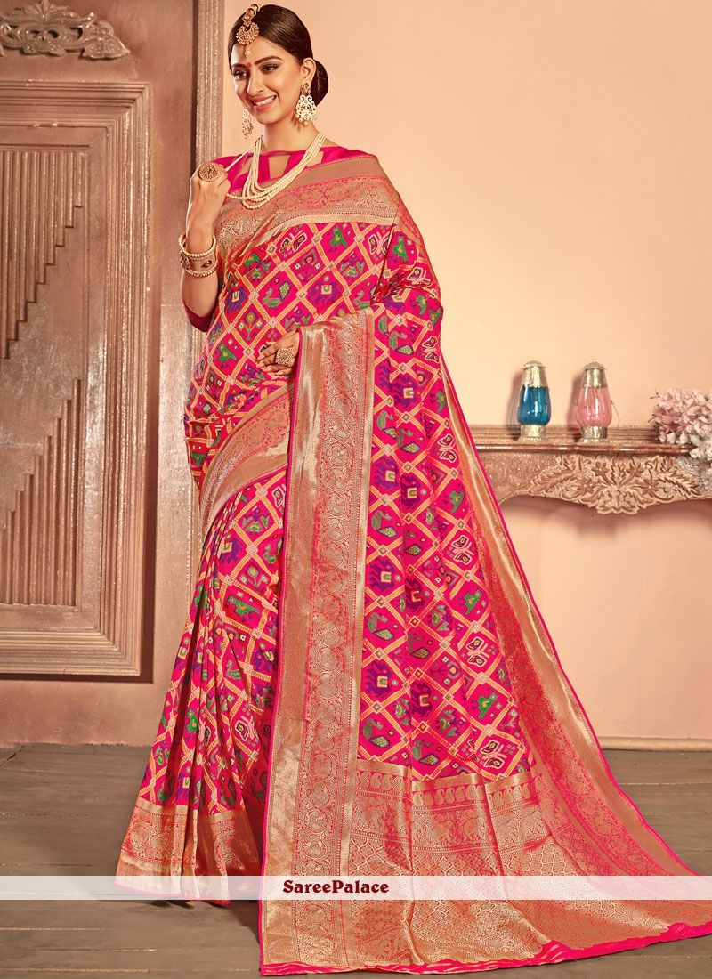57245335b9297 Patola Silk Traditional Saree. Patola Silk Traditional Saree Buy Designer  Sarees Online ...