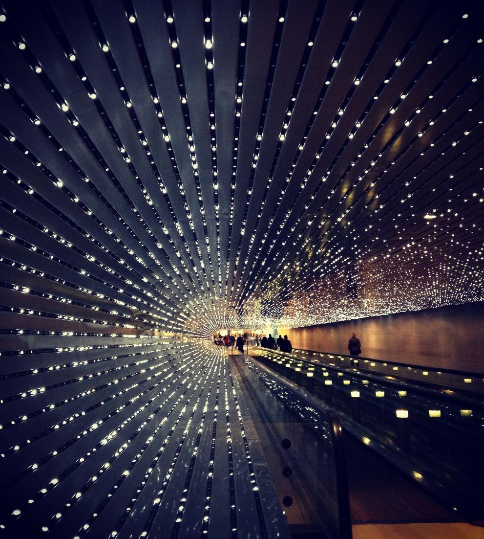 Light Tunnel National Of Art Washington Dc