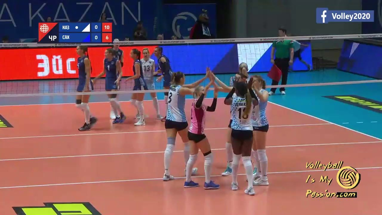 Russia Superleague Women Dynamo Kazan Vs Sakhalin 15 12 2019