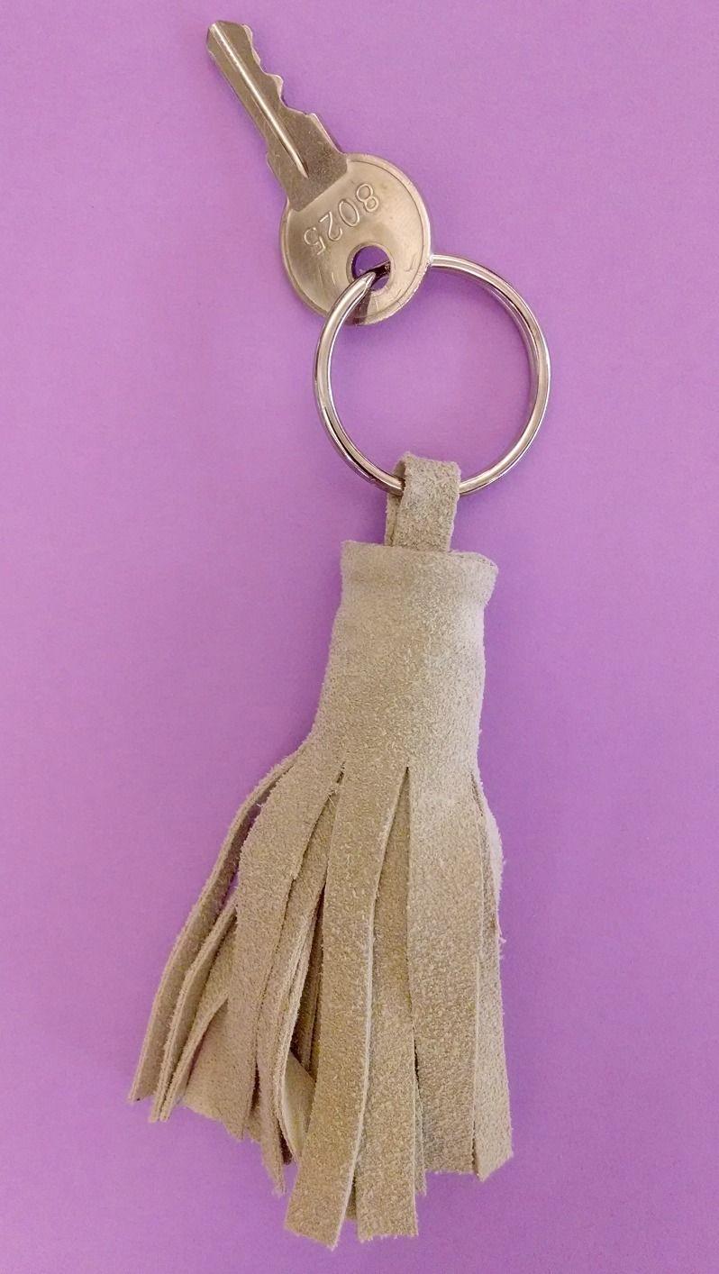 Adult Craft Night - January 2014. Key chains
