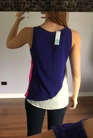 Scrubs by Night: Stitch Fix Review #7 - May 2015 Interesting style with the color blocking.