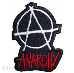 Patch 04 Punk Rock Anarchy Symbol Sew On Or Iron On Customise Denim Leather Jackets Biker Motorcycle Skull Rock 3 Punk Rock Punk Anarchy Symbol