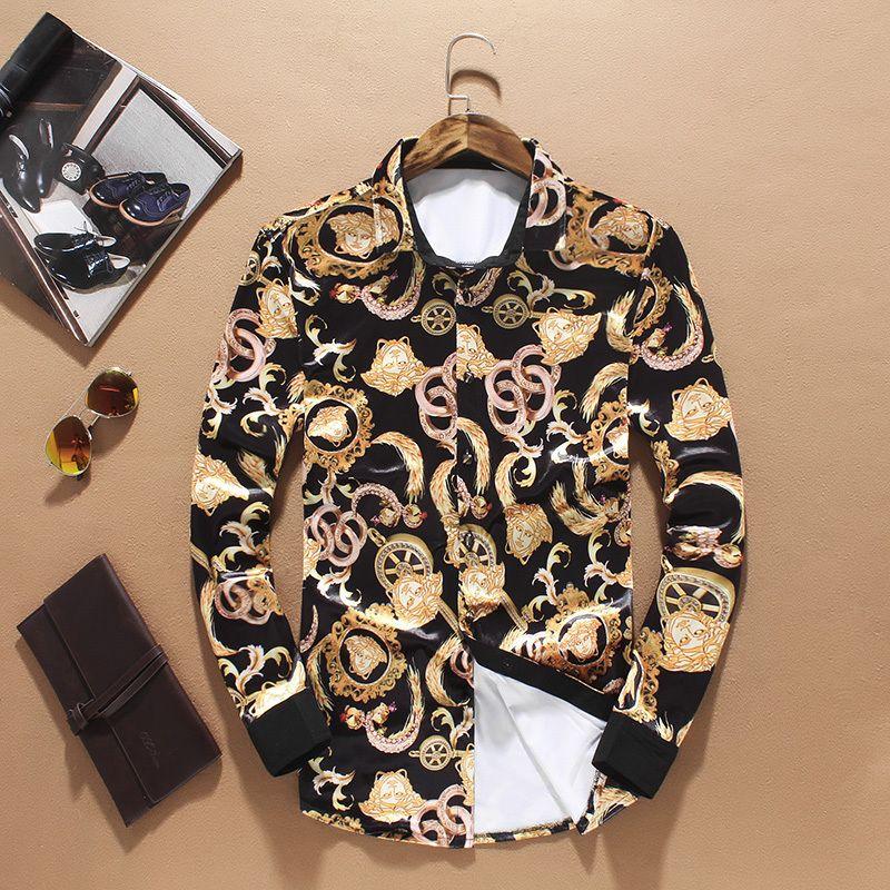 a basso prezzo 4db7f 73c5d Versace Camicia uomo € 60.00   Man wear man   Versace men ...