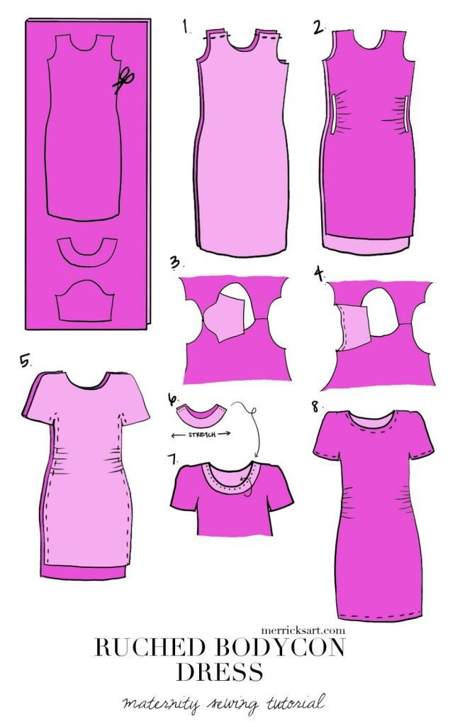 Bodycon dress cutting and stitching x ray near