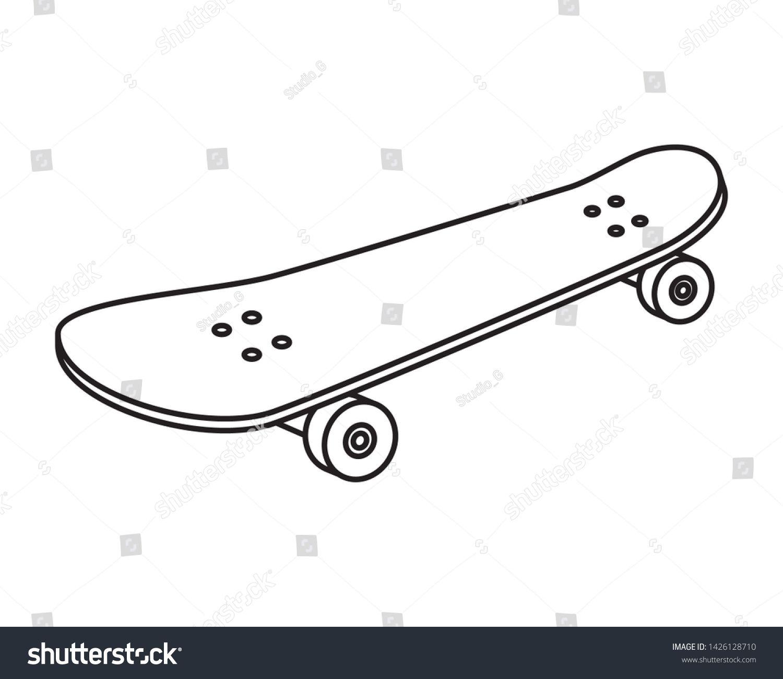 Skate Board Sport Element Icon Ad Affiliate Board Skate Sport Icon Skateboard Skateboard Art Skate