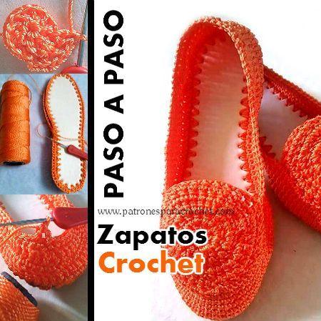 Cómo tejer zapatos a crochet paso a paso en español | носки,обувь ...