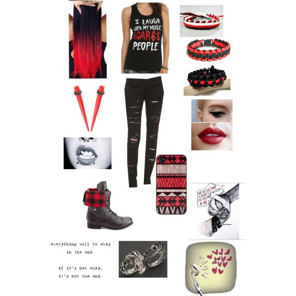 """""""I laugh when my music scares people"""" by cmtorres1030 on Polyvore"""