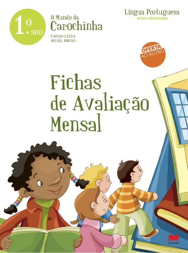 Fichas Avaliacao Mensal 1ºano Com Imagens Ficha De Avaliacao