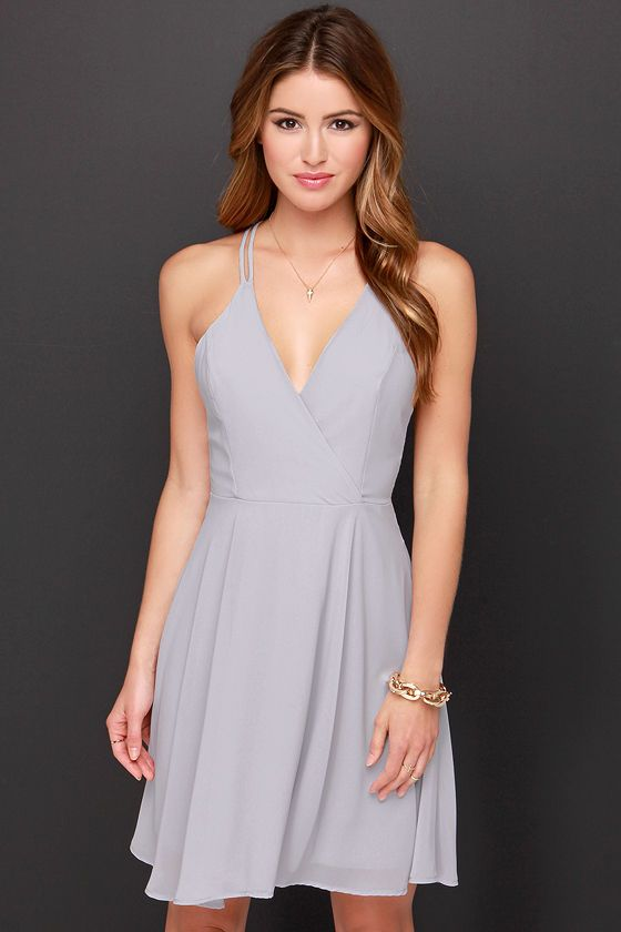 LULUS Exclusive Dream About Me Grey Dress at Lulus.com! f5a7c2a40