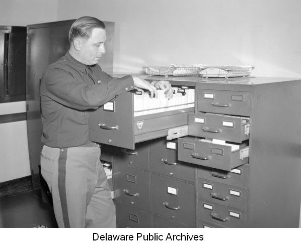Carl Schnetter with new Delaware State Police criminal files