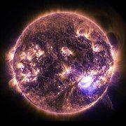 Auringonpurkauksen, Aurinko, Purkaus