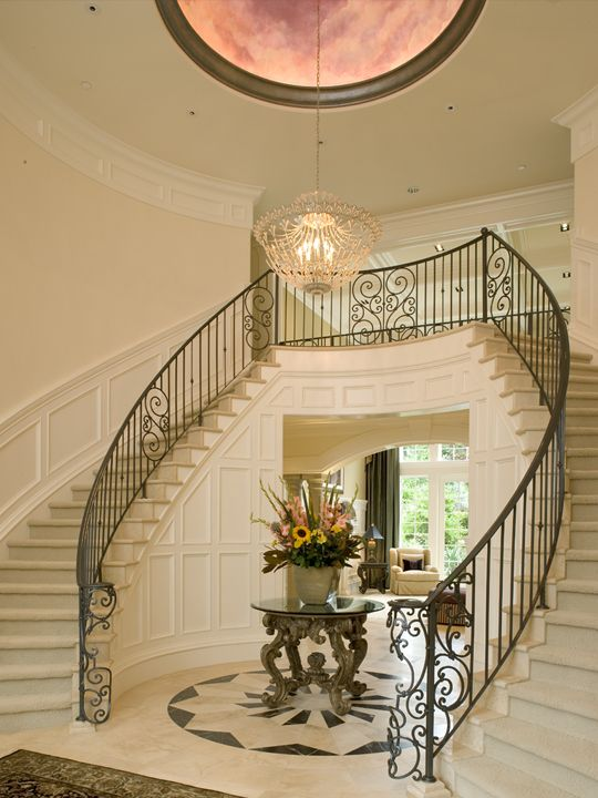 Best Artale Grand Foyer And Dual Staircases Foyer Decorating 640 x 480
