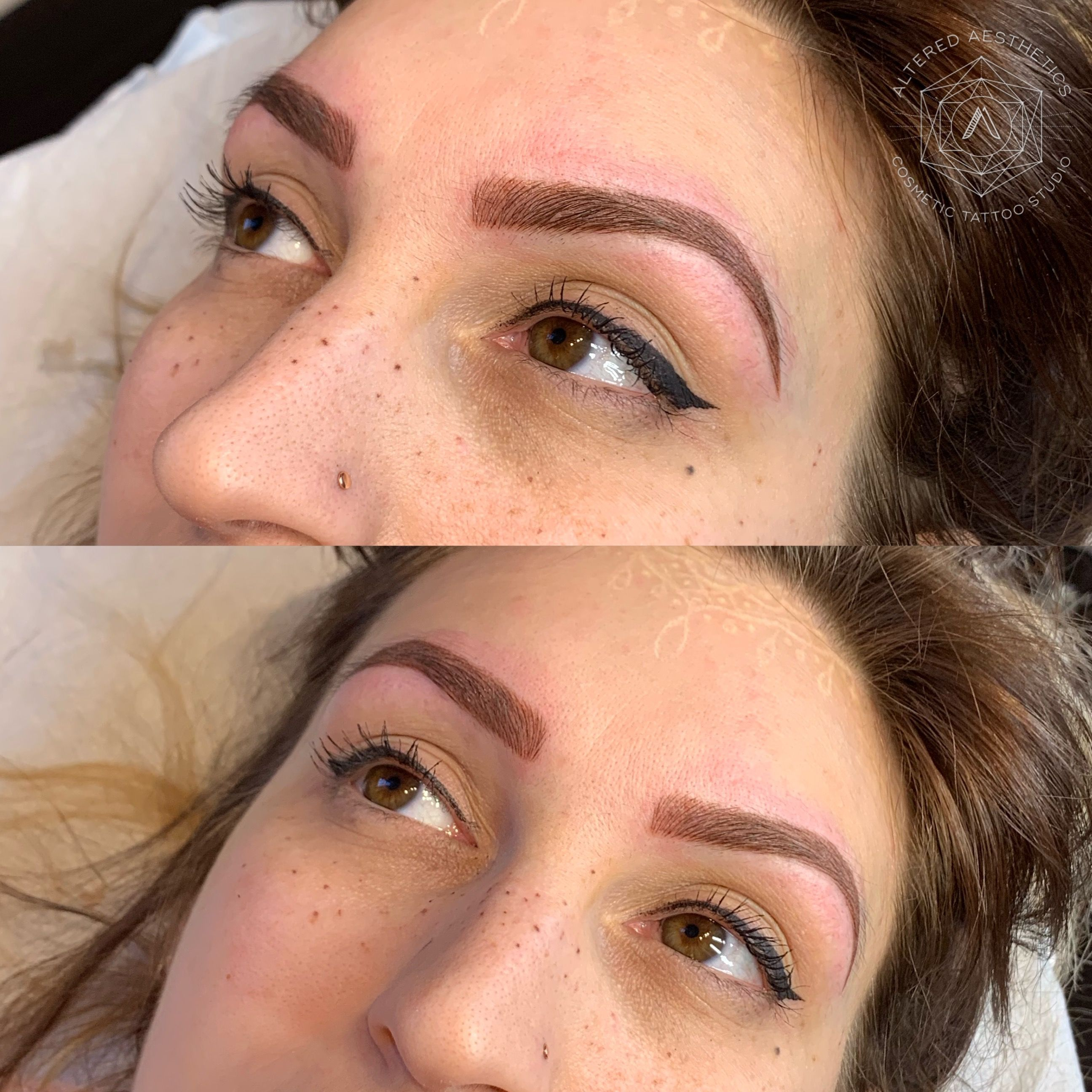 Hello new brows so fresh and so clean love it
