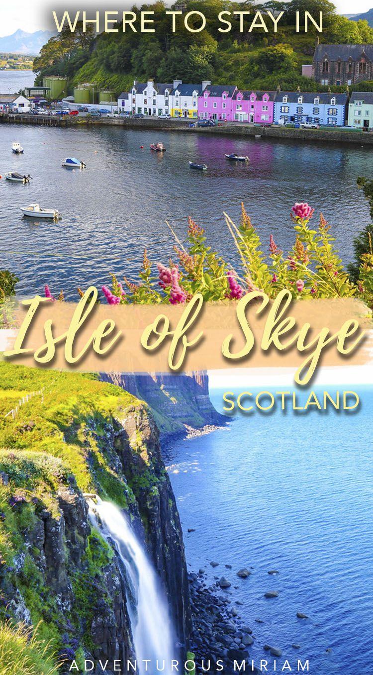 Where to stay in Isle of Skye, Scotland #travelscotland
