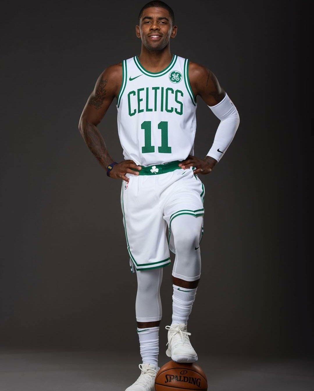 8283010b167 Kyrie Irving in the Boston Celtics Jersey | Poster | Kyrie irving ...