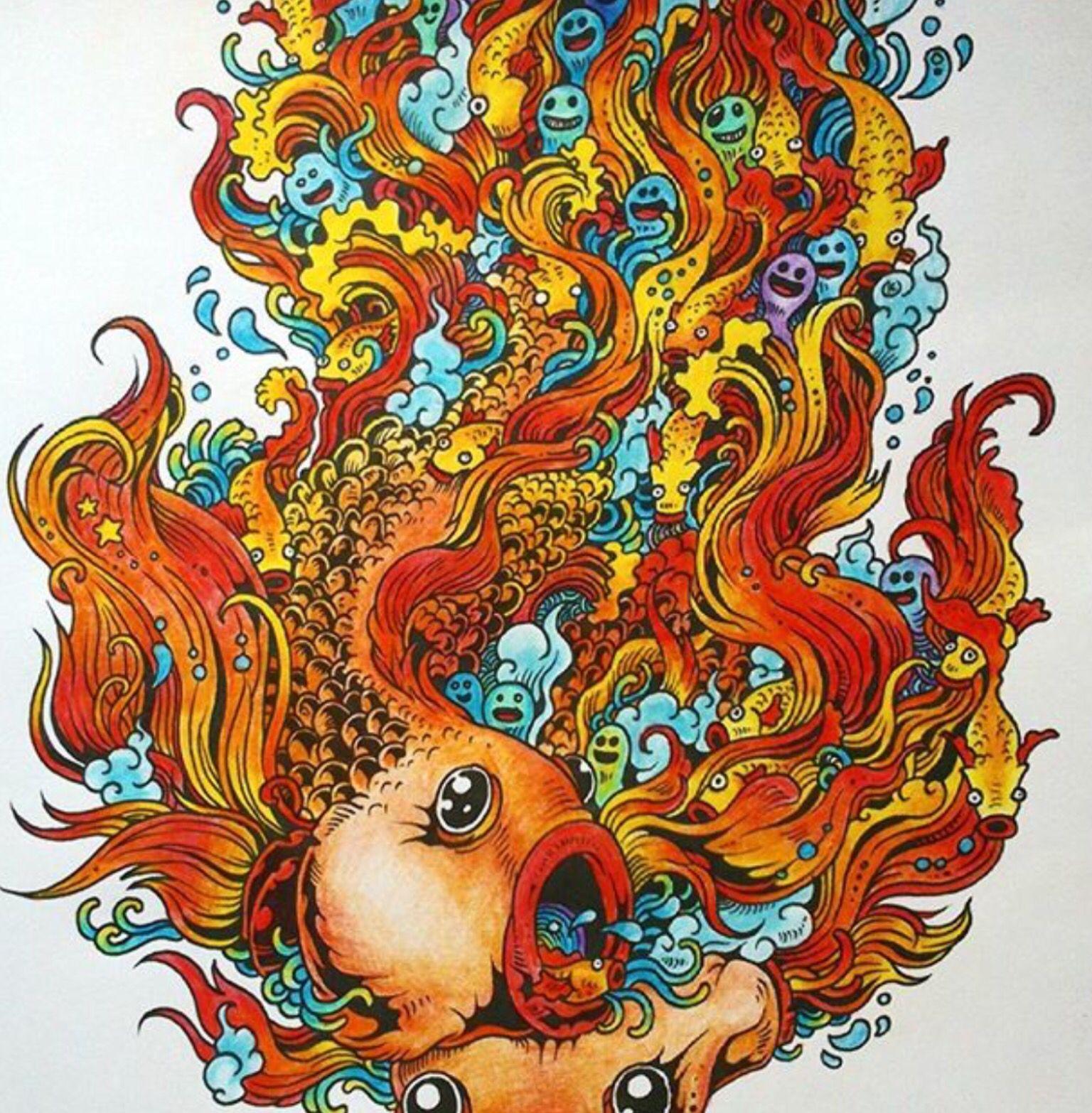 Doodle | Раскраски
