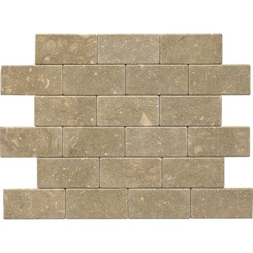 Check out this Daltile product: Martinique Caspian Shellstone 3 x 6 Field Tile (Tumbled) L756