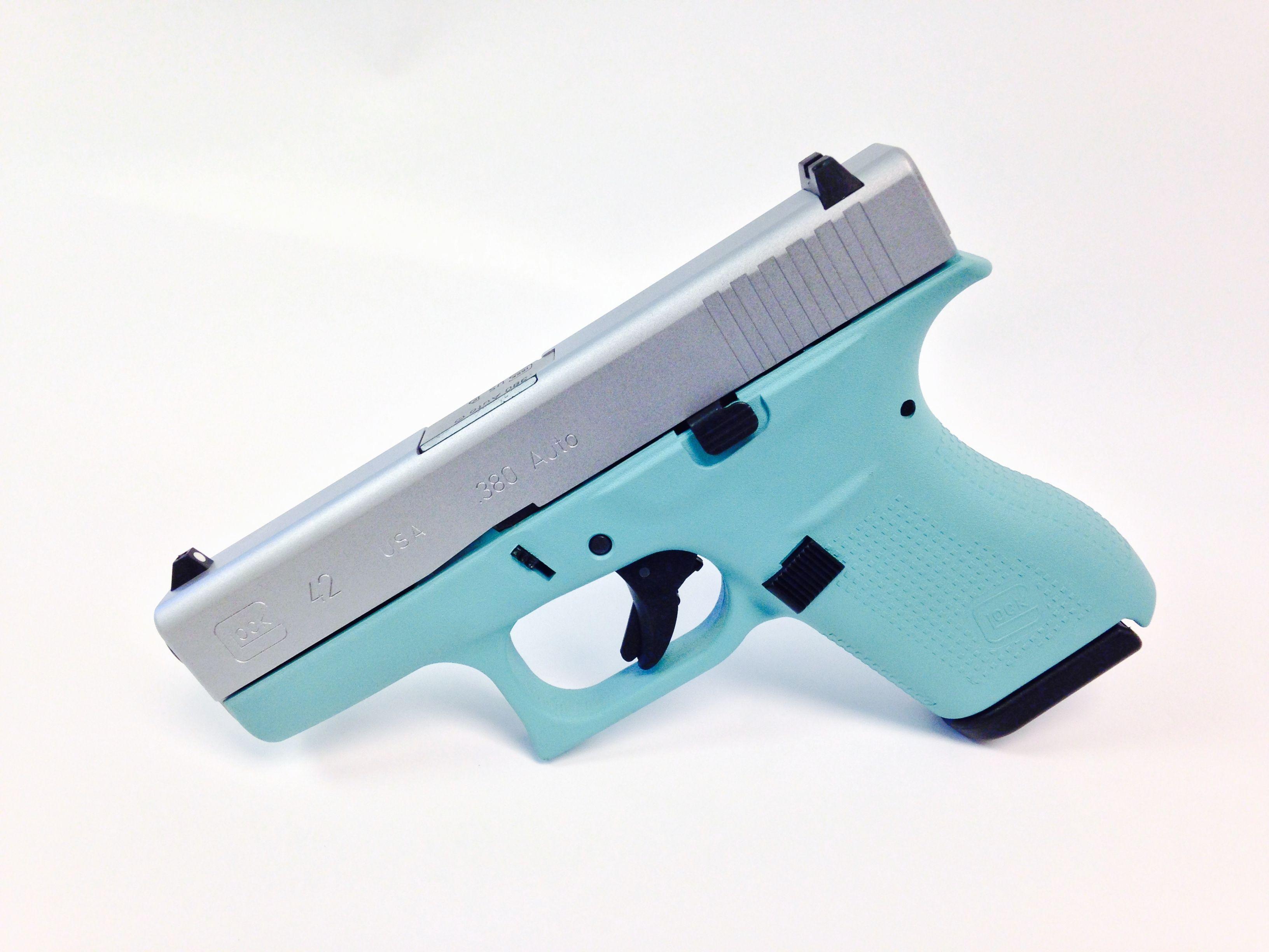 tiffany blue pistol - 800×800