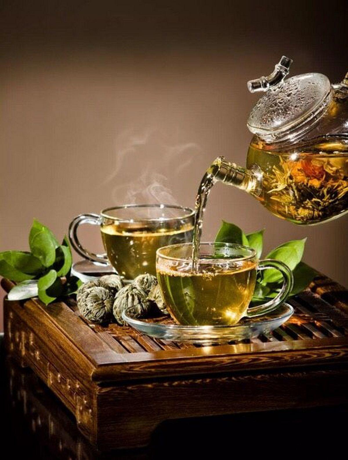 Красивое фото чаепития