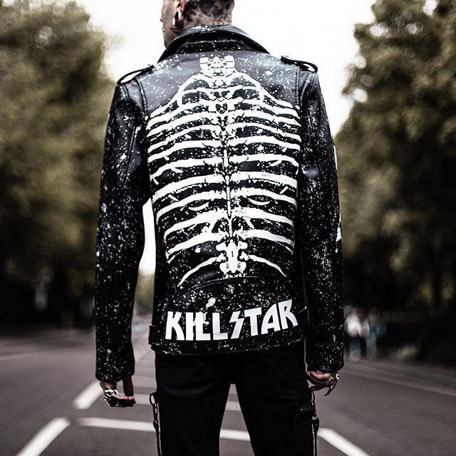 "2,957 Likes, 12 Comments - KILLSTAR (@killstarco) on Instagram: ""King Of The Gravez; Morgue Master Biker Jacket | SHOP KILLSTAR.com We Ship Worldwide! 🌙"""