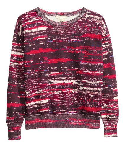 El suéter rojo