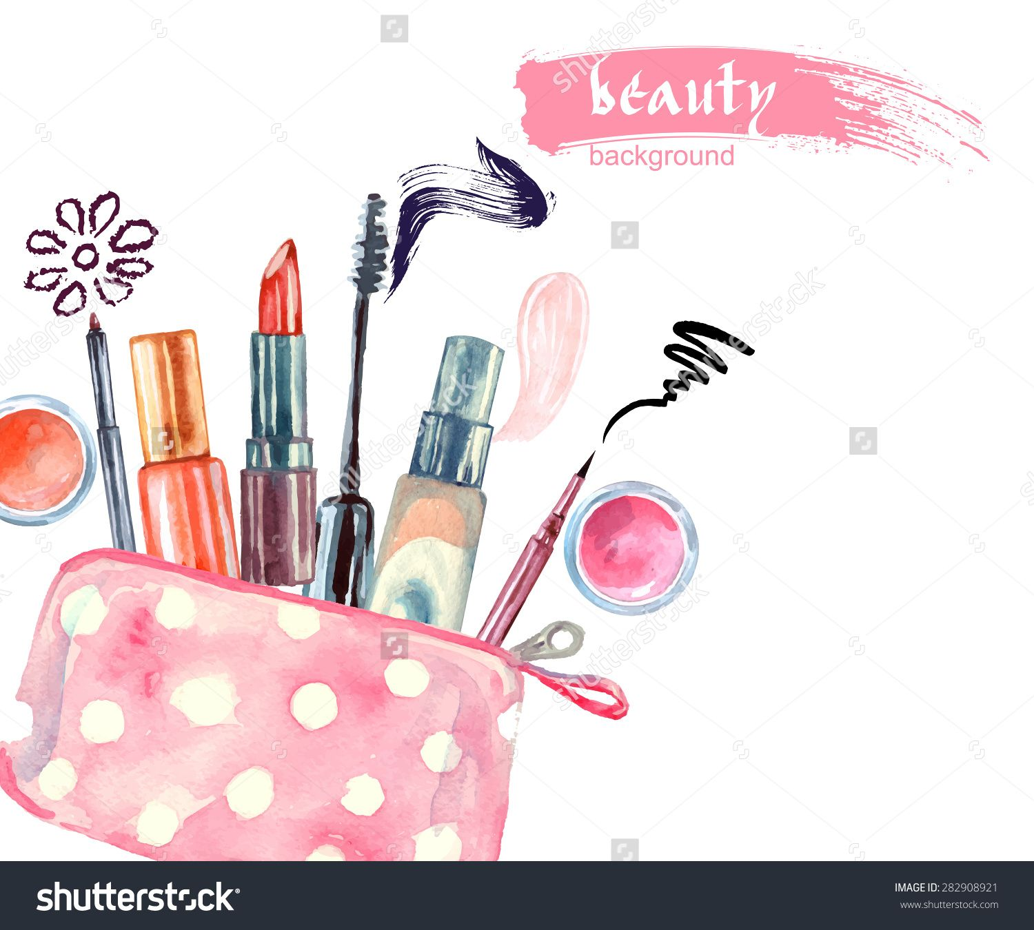 ladies makeup clipart Google Search Logo maquiagem