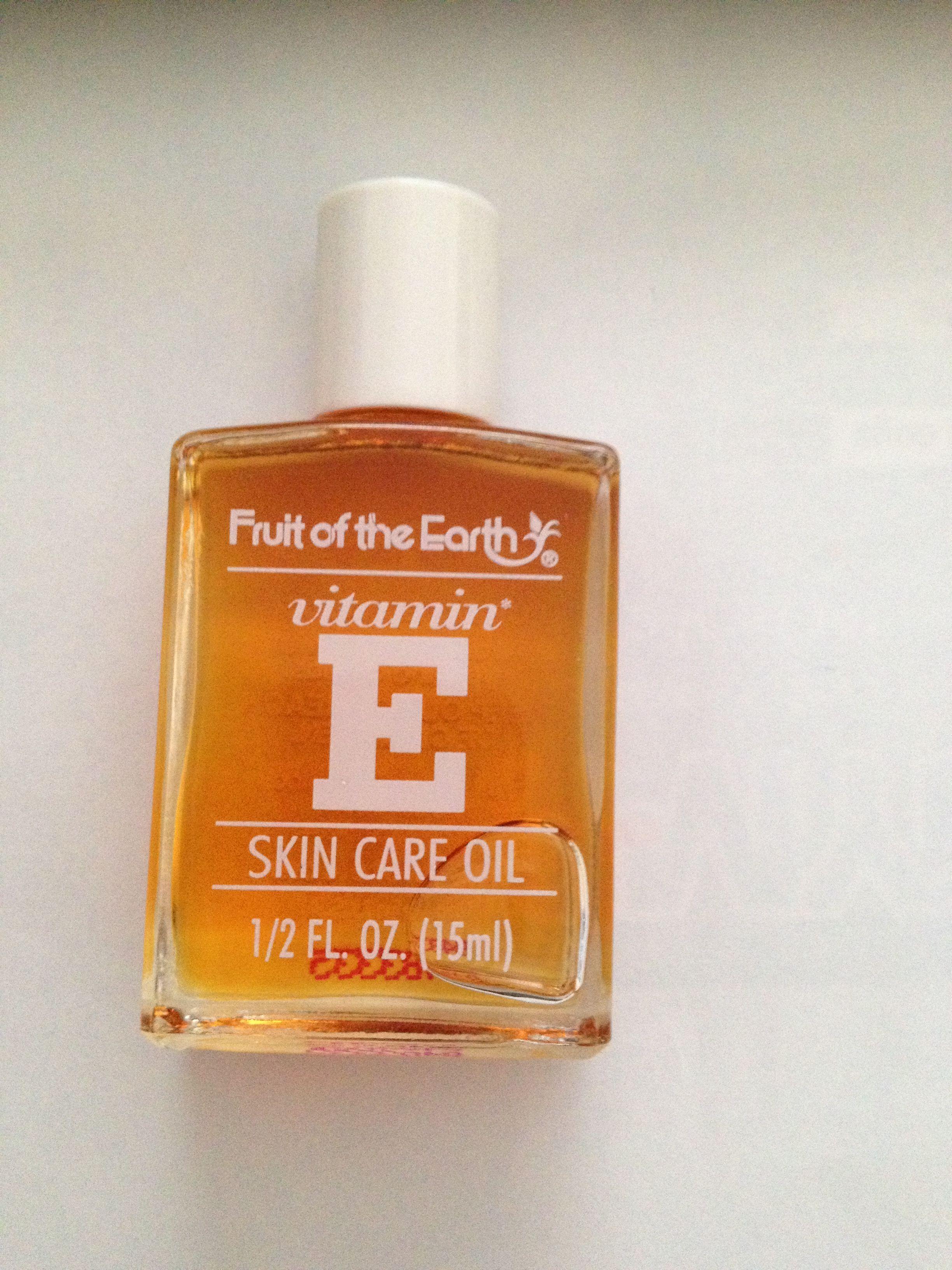 Fruit Of The Earth Vitamin E Skin Care Oil Unopened 5 Oil Skin Care Oils For Skin Vitamin E