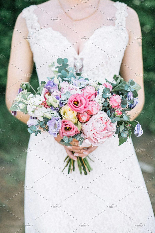Wedding Bouquet By Fl Deco On Creativemarket Beautifulweddingflowers