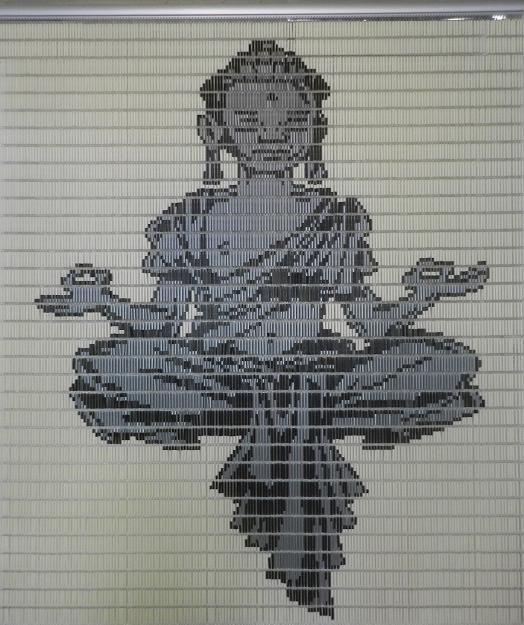 Spiksplinternieuw Vliegengordijn Boeddha speciaal voor Tuindeuren. te koop op onze PS-32