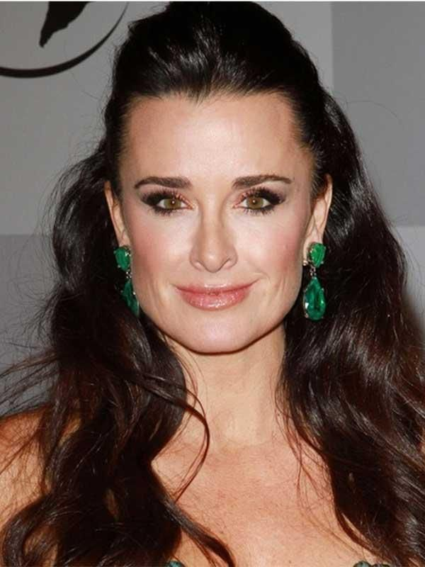 70685b00f Real Housewives of Beverly Hills Kyle Richards. I heart Kyle and I have  always hearted her emerald earrings