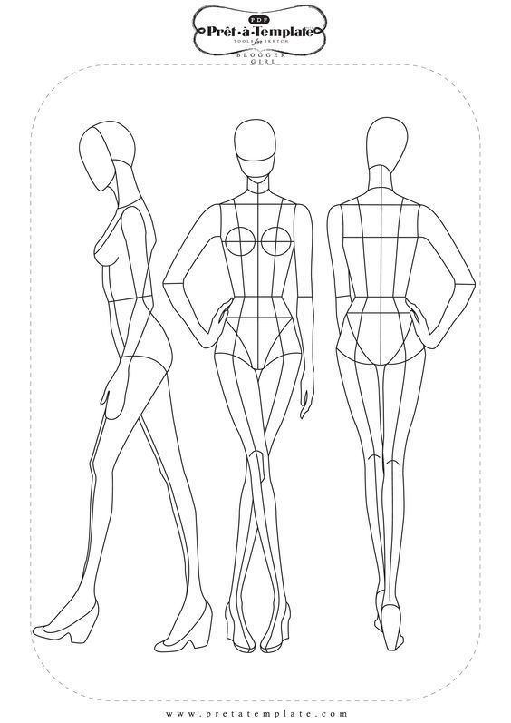 Pin by Larissa Yumi on Ilustrações Pinterest Fashion templates - fashion designer templates