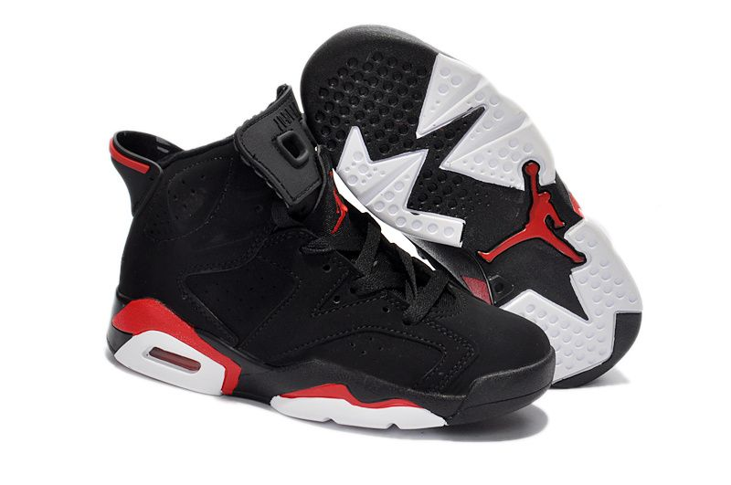 Kids Jordan 6 Retro Black Deep Infrared , Price: $51.30 - Air Jordan Women  Shoes - Women's Air Jordan Shoes