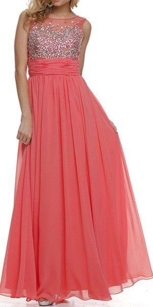 Studded Bateau Neck Ruched Empire Waist Jade Formal Dress