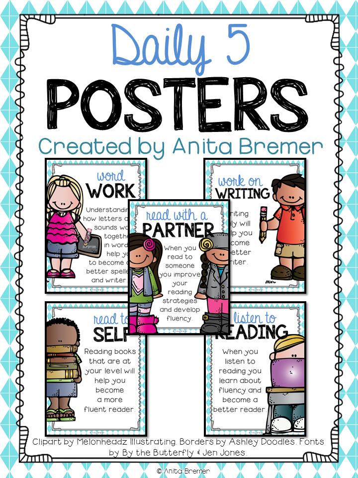 Mrs. Bremer's Class: {FREE} Daily 5 Posters