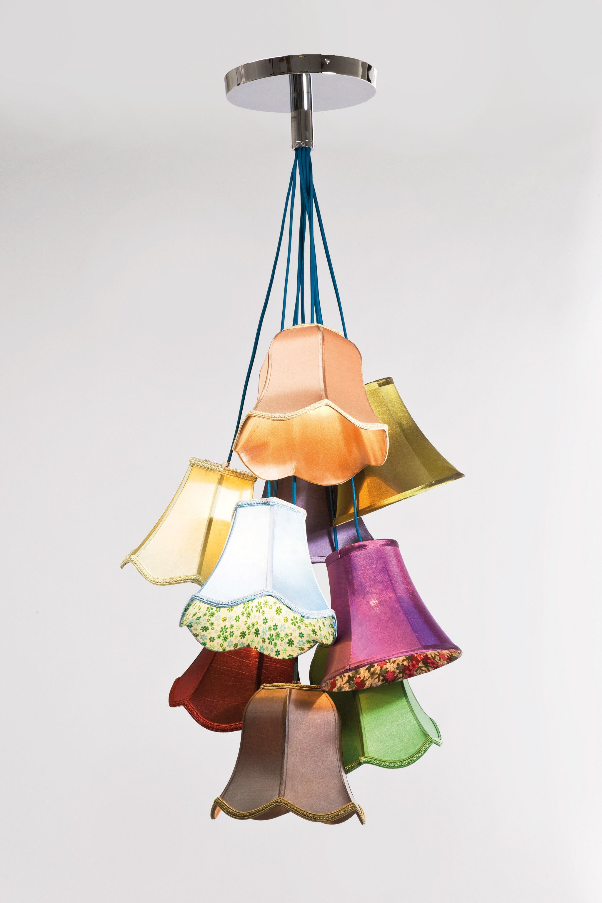 Suspension abatjours multicolore light please pinterest