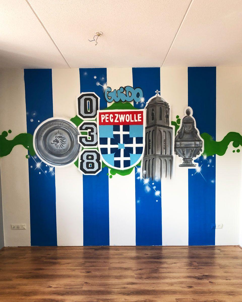 Pin Op Graffiti Slaapkamer