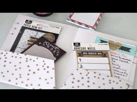 DIY Filofax A5 File Folder Divider | Vlogmas Day 15 - YouTube