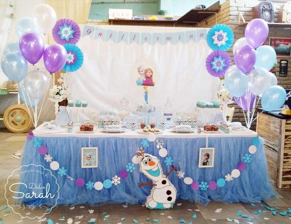 """Frozen (Disney) / Birthday """"Guillermina's Frozen 2nd"""