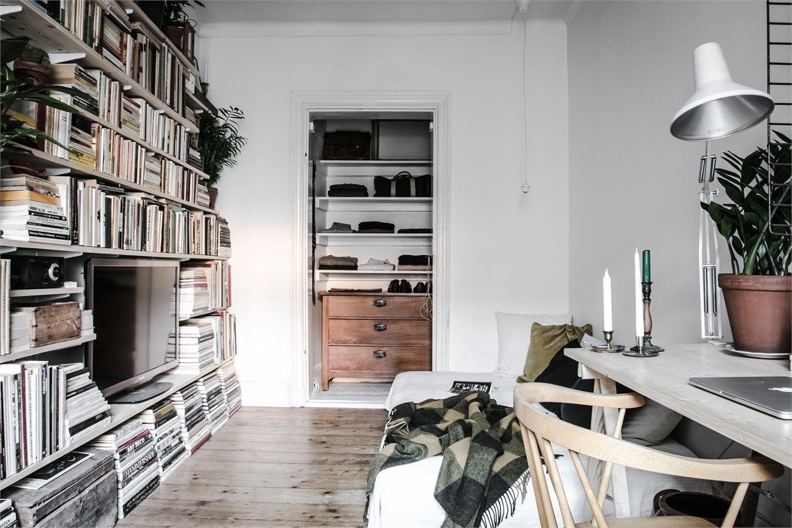 A dreamy 24 sqm studio (With images)   Home, Loft living ...